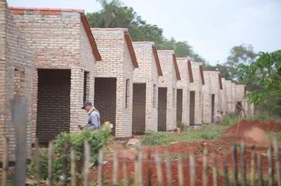 Construcción de viviendas ya ejecutó 40% de su presupuesto al mes de junio