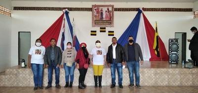 Comuna de Puerto Casado entregó salón para comunidad indígena Riacho Mosquito