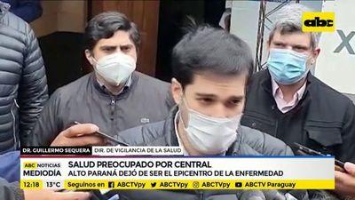 Central está peor que Alto Paraná en casos de coronavirus, afirma Sequera