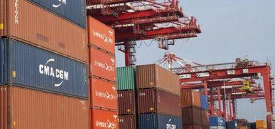 Exportaciones cayeron un 19,5% en el primer semestre