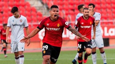 Los dos goles para el triunfo de Mallorca