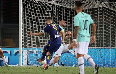 Inter de Milán cede su lugar en el podio al Atalanta