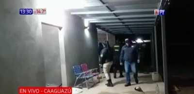Coronel Oviedo: Allanamiento tras muerte de jefe de seguridad