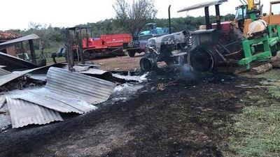 Canindeyú: Campesinos armados y violentos habrían atacado estancia