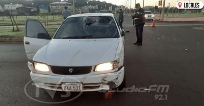 Dos personas heridas tras un accidente de tránsito en Encarnación