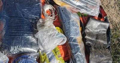FTC y Antisecuestros hallan caleta con varios objetos en Loreto