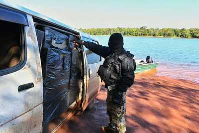 Desmantelan PUERTO CLANDESTINO y detienen a 8 contrabandistas