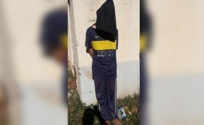 Vecinos aprehendieron a un hombre por robar aceite y feijão a anciana