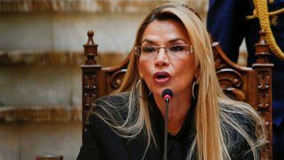  VIDEO  Jeanine Áñez confirmó que dio positivo a un test de SARS-CoV-2