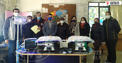 Rotary Club Norte entregó insumos al sector de neonatología del Hospital Regional