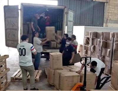 Distribuyen equipos de bioseguridad a 28.439 funcionarios de blanco