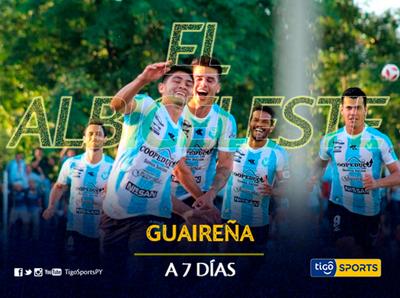 A 7 días del regreso del Apertura, Guaireña busca seguir con su buen andar