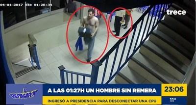 Crimen en el PLRA: nuevas imágenes muestran a Patrón y al hijo de Efraín manipulando computadoras