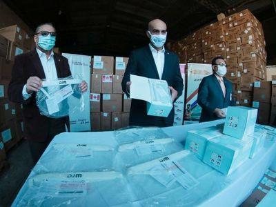 Ministerio de Salud recibe donación de insumos médicos