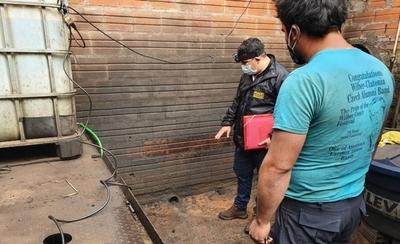 HOY / Intervienen taller mecánico que operaba sin declaración de impacto ambiental