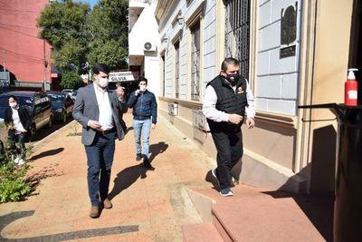 Junta Municipal pide intervención del municipio de Encarnación