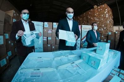 Salud Pública recibe nueva carga de equipos de bioseguridad