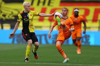 Volvió Miguel Almirón, pero Newcastle pierde ante uno de los coleros
