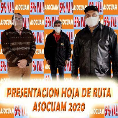 Los 4 personajes de la Asocuam aún no presentaron hoja de ruta del 5% de dinero municipal
