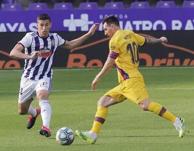 Lionel Messi sigue marcando el camino