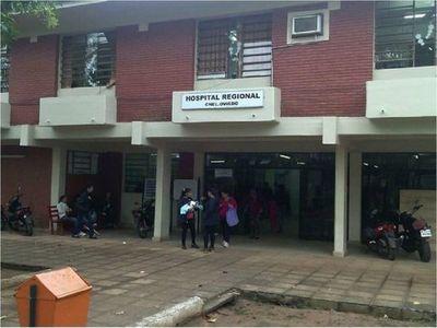 Personal de blanco en cuarentena por contacto con paciente con Covid-19 en Coronel Oviedo