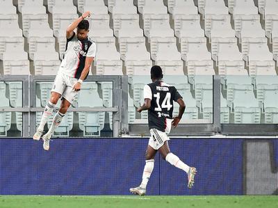 Cristiano evita un nuevo tropezón de la Juventus