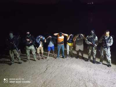 Detienen a siete personal que intentaron ingresar ilegalmente por el río Paraná