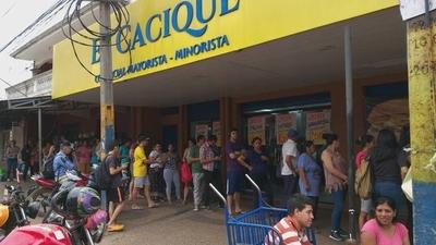 HOY / Ante disparo de casos en Luque, local comercial cierra de manera temporal