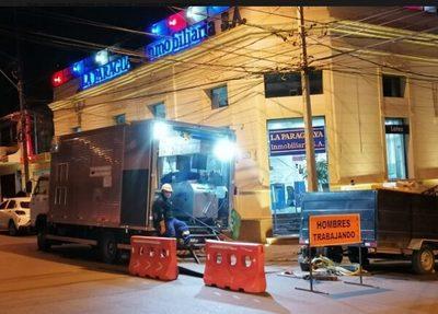 Obras de red cloacal en la capital tendrán nuevos frentes desde este lunes