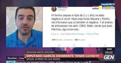 """""""Vigilancia de la Salud de manera informal divulgó mi resultado"""", asegura García"""