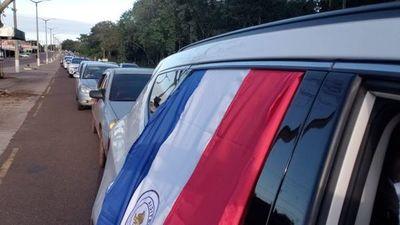 Comerciantes de fronteras se movilizan por la reactivación económica