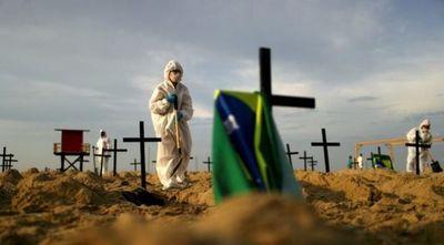 Brasil bordea los 1,9 millones de casos y supera 72.000 víctimas por COVID-19