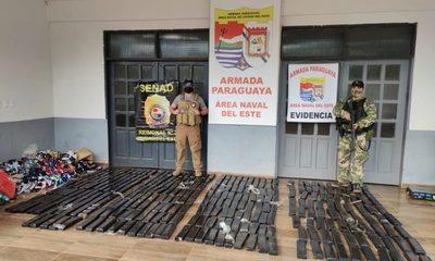 Incautan drogas que iban  a ser traficados al Brasil – Diario TNPRESS