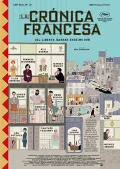 La Crónica Francesa, distinguida para el Festival de Cannes 2020