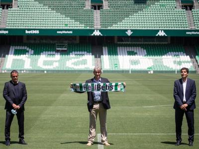 Manuel Pellegrini fue presentado en el Real Betis