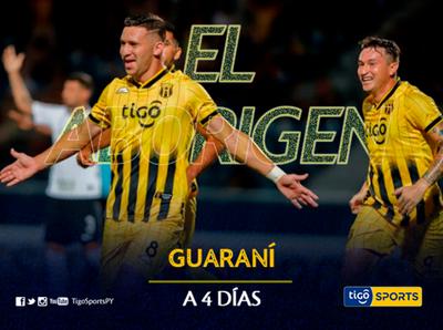 A 4 días del retorno, Guaraní está preparado para pelear en lo más alto