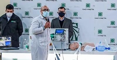 Técnicos paraguayos construyen prototipo de equipo vital para tratamiento del covid