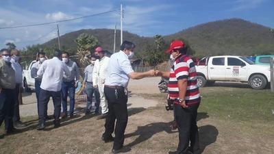 Presidente de la ANDE mantuvo reunión con autoridades de Alto Paraguay