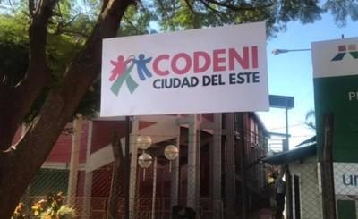 CODENI de CDE permanecerá cerrada ante caso confirmado de covid