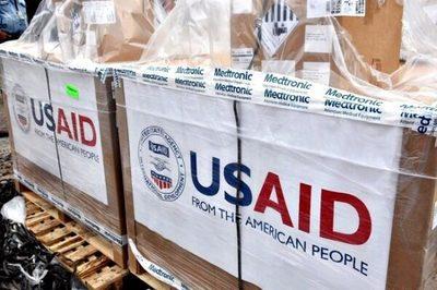 Llegan al país los 50 respiradores donados por EE.UU.