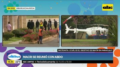 Macri se reúne con Mario Abdo Benítez