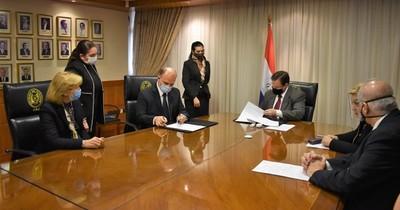 Basa y CSJ firmaron acuerdo de cooperación