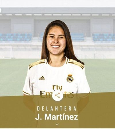 ¡Orgullo nacional! La paraguaya Jessica Martínez jugará en el Real Madrid