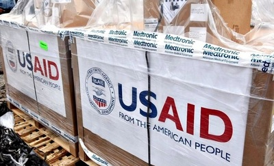 Arriba primera tanda de 50 respiradores donados por EEUU