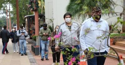 COVID-19: San Lorenzo y Luque, con más casos de sin nexo en Central
