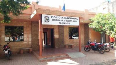 30 Policías de Villarrica van a cuarentena por contacto con detenido con COVID19