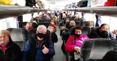 Hasta la fecha, 2.323 compatriotas fueron repatriados desde Argentina
