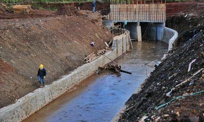 Con sistema de drenaje pretenden solucionar inundación en zona de viaducto del Km. 5,5
