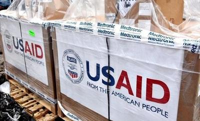 Respiradores donados por los EE.UU serán entregados a Salud Pública
