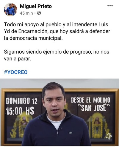 Intendentes deben RENDIR CUENTA, con DOCUMENTOS a la ciudadanía
